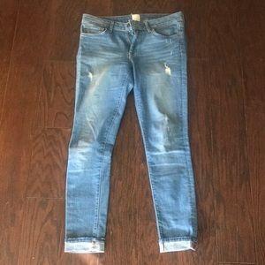 Rich & Skinny Alpine Sky Jeans, Size 27